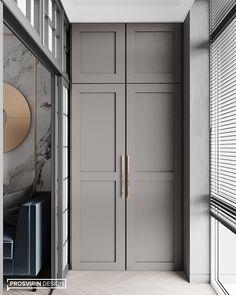 Wardrobe Door Designs, Wardrobe Doors, Built In Wardrobe, Closet Designs, Bedroom Closet Design, Home Decor Bedroom, Balkon Design, Modern Luxury, Home Interior Design