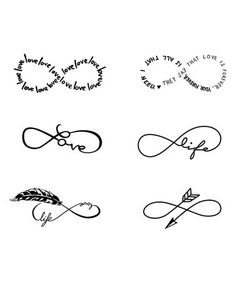 Take a look at this Everlasting Life Temporary Tattoos - Set of Two on zulily today!