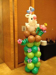 Balloon+Columns | Balloon Rabbit Column | Balloons Singapore