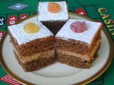 Ořechový dort velmi dobrý (podle Sandtnerové - upraveno)