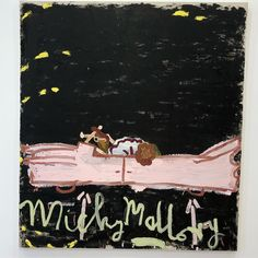 Oil on canvas 72 x 64 inches x 165 cm) Rose Wylie, Shot Film, Natural Born Killers, Long Shot, Oil On Canvas, House, Abstract, Drawings, Nature