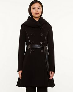 Double Weave Belted Jacket
