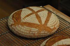 Making Scottish bread in December  2012