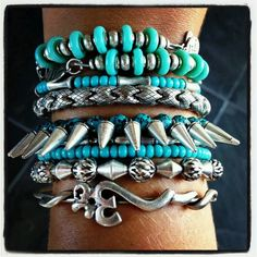 Alex and Ani stack