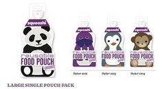 Squooshi Reusable Food Pouches, Large Single Pouch   ecolifestylekids.com
