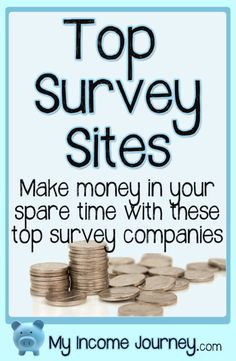 Want to make money online taking surveys? Here's the 6 companies I'm signed up with and have personally done surveys through.