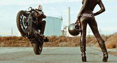 Ducati + leather