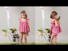 Conjunto bañador niño y niña. - Patronesmujer: Blog de costura, patrones y telas.