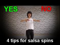 4 tips for successful salsa spins by Anna LEV - YouTube Ballroom Dance Lessons, Dance Tips, Ballroom Dancing, Dance Moves, Jazz Dance Costumes, Belly Dance Costumes, Salsa Lessons, Dance Playlist, Bachata Dance