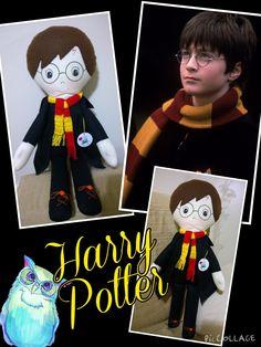 Boneco Harry Potter, by Ateliê Sapeka
