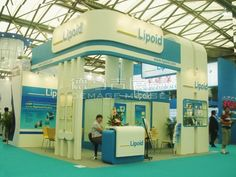 Lipoid Shanghai, China,English Booth Design,Lipoid Kosmetik AG Exhibition Hall Planning【Demage English Exhibition Company】