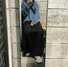 Hijab Style Dress, Modest Fashion Hijab, Modern Hijab Fashion, Street Hijab Fashion, Muslim Women Fashion, Casual Hijab Outfit, Hijab Fashion Inspiration, Minimal Fashion, Fashion Outfits