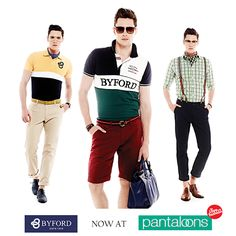Look smooth and uncanny in the fashionable collection from Byford, only at Pantaloons.