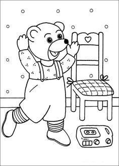 Top 10 Noddy Coloring Pages For Toddlers | Skittle, Free and ...