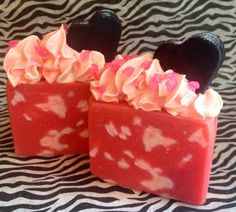 Luxurious Cold Process Artisan Soap Forbidden Love by MilancoSoaps, $6.00
