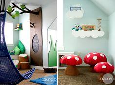 Déco 25 idées pour aménager un coin jeu dans une chambre d'enfant!