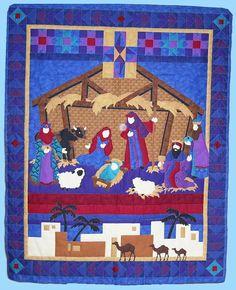 Fabric Nativities on Pinterest | Nativity, Nativity Scenes and Christ…