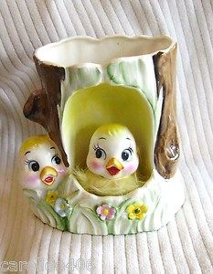 Rubens Chicks/Ducks Vintage Planter