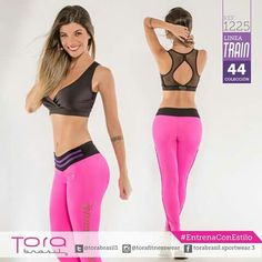 REF:1225 Top unitalla único color Leggings trenzado #EntrenaConEstilo #FitnessFashion #Leggings #ToraBrasil #modadeportiva #gymwear #Fitness