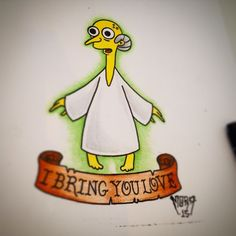 Image result for simpsons tattoo flash