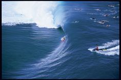 This wave was a statement for Keala Kennelly, and women's big-wave surfing at the time in 2005. Even the most sexist of surfers had no choice but to applaud her incredible tube. Photo: McKenna