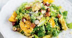 6 tips för att få liv i din quinoa Vegetarian Dinners, Vegan Vegetarian, Quorn, Vegan Lunches, Quinoa, Edamame, Avocado Toast, Cobb Salad, Broccoli