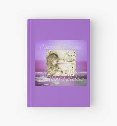 #VintageCarouselDreams #PurpleOcean&Sky #HardcoverJournal by #MoonDreamsMusic
