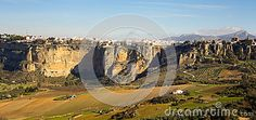 Photo about A view upon Ronda surrounding plains taken in december 2015 around Christmas time. It s a MUST-VISIT place if you like to hike! Image of building, houses, andalusia - 70321479 Andalusia Spain, Christmas Time, December, Hiking, Stock Photos, City, Building, Places, Image