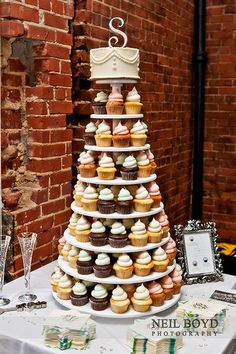 Wedding Cupcakes. Raleigh Weddings. Design Ideas