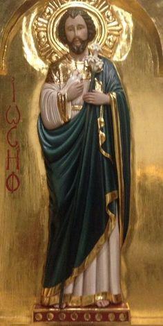 Mi querido y justo San José. En silencio y casi oculto, cumpliendo la voluntad de Dios.