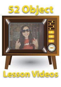 52 Children's Ministry Object Lesson Videos