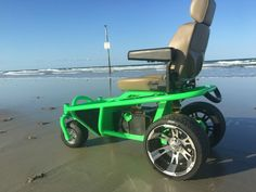 Off road Beach all terrain sand wheelchair Mobility outdoor power chair Blemish