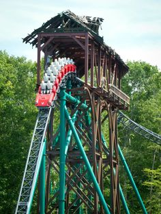 Griffon Front Row Seat On Ride Widescreen Pov Busch Gardens Williamsburg We Only Ride In The