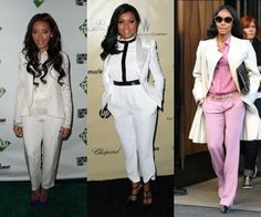 It's Feminine To Be Masculine: 14 Ways To Rock The More Manly Spring 2013 Trend (Follow Taraji P. Henson, Angela Simmons & Jada Pinkett-Smith)