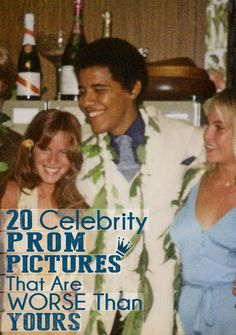 20 Celebrity Prom Pictures That Are Worse Than Yours!