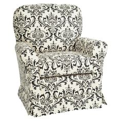 Little Castle Linen Bordeaux Swivel Glider : Target