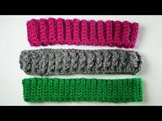 🌈Tipos de Resorte o Bandas para Gorros a Crochet (PASO A PASO) - YouTube Ribbed Crochet, Crochet Art, Crochet Beanie, Baby Blanket Crochet, Crochet Hooks, Crochet Basics, Crochet Stitches, Crochet Patterns, Barbie