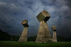 Bubanj Memorial, Nis, Serbia: This memorial park stands on the site of one of the largest mass executions of the second World War
