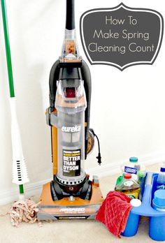 How To Make Spring Cleaning Count http://makobiscribe.com/how-to-make-spring-cleaning-easy/