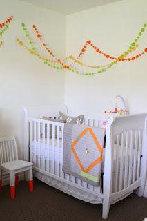 koradecora: guirnaldas en habitación infantil