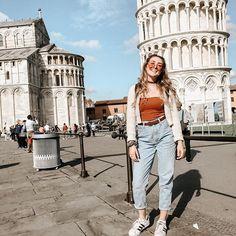 Thrift look in Pisa! Pisa, Thrifting, That Look, Actors, Eat, Instagram, Food, Style, Swag