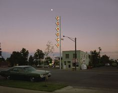 Conoco Sign, Center St., Kanab, UT, August 9, 1973