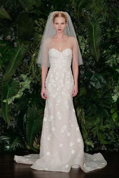 Pin for Later: Les Plus Belles Robes de Mariée de la Bridal Fashion Week Automne 2014  Naeem Khan Bridal Autumn 2014