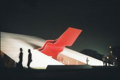 Oscar Niemeyer, Auditório do Ibirapuera