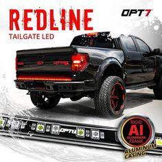 Ram Trucks, Cool Trucks, Chevy Trucks, Pickup Trucks, Lifted Trucks, Cool Gadgets To Buy, Car Gadgets, Led Tailgate Light Bar, Cool Truck Accessories