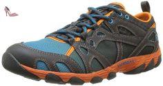 Merrell Hurricane Lace, chaussures aquatiques homme - Bleu (Blue/Orange Peel), 43 EU (8.5 UK) (9 US) - Chaussures merrell (*Partner-Link)