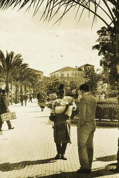 Raouche [1930s]    Yeah, believe it or not, this was #Beirut