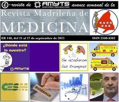 Disponible el Nº 140 de la E-Revista de AMYTS, ( del 21 al 27 de septiembre de 2015. http://amyts.es/e_revista/