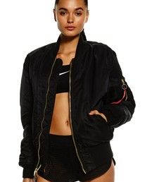You know those bombers you see gracing the shoulders of Fashion It Girls, Kendall Jenner and Gigi Hadid? Well, you can steal their style right now with the Alpha Industries MA-1 Flight Jacket in Black! New to Stylerunner, these coveted jackets bring with them instant street cred along with lightweight comfort which will have you nailing the athleisure game. The hardest part? Choosing a colour! Be sure to also check it out in Khaki and Maroon. The perfect addition to any outfit, layer over…