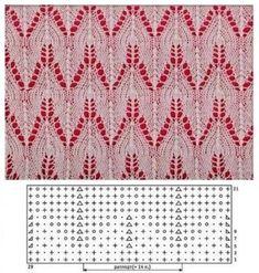 УЗОРЫ_спицами | Записи в рубрике УЗОРЫ_спицами | Дневник Gelen111 : LiveInternet - Российский Сервис Онлайн-Дневников Knitting Stiches, Crochet Stitches Patterns, Knitting Charts, Weaving Patterns, Free Knitting, Baby Knitting, Stitch Patterns, How To Purl Knit, Knitting For Kids